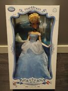 Disney Store Cinderella Doll - Limited Edition - New In Box