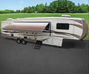 Outdoor Motorized Retractable Awning Electric Power Patio Rv Camping 16 Foot