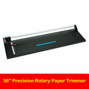 36and039and039 Precision Rotary Paper Trimmer Photo Paper Film Sharp Cutter Machine