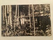 Old Postcard - The Cabin On The Point, Wild Cat Inn, Boulder Junction, Wi