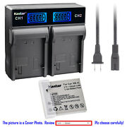 Kastar Battery Lcd Rapid Charger For Canon Nb-4l 4lh Digital Ixus 130 Is Camera