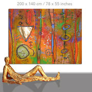 Abstract Paintings Modern Art Wall Hand Painted Canvas Decor Principle 78 X 55