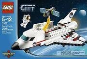 Lego 3367 City Space Shuttle Launch Pad Astronaut Satellite. New, Sealed