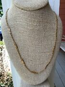 French Victorian 18k Yellow Gold Necklace