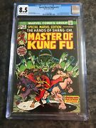 Marvel Special Edition 15 Cgc 8.5 Comic 1st App Master Kung Fu Shang Chi 1973