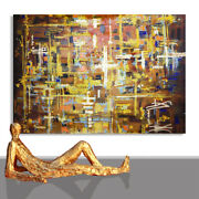 Abstract Paintings Modern Art Wall Hand Painted Canvas Decor Occero 70 X 51
