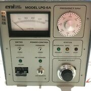 Used Eni Power Systems Lpg-6a Rf Generator For Sale