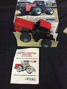 Ertl 1988 Case Ih International Battery Operated Tractor W/ 3 Point Hitch Nos