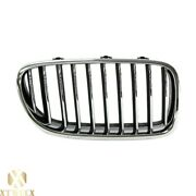 Right Passenger Side Chrome Grille For 11-13 Bmw F10 5 Series W/night Vision Typ