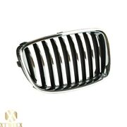 Right Passenger Side Chrome Grille For 10-13 Bmw F07 535i Gt W/o Night Vision