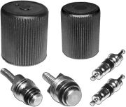 A/c System Cap And Valve Cores Rapid Seal Kit