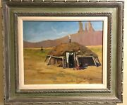 Ray Vinella Original Signed New Mexico Oil Painting Sw Desert Plein Air Taos Six