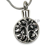 New Tree Of Life Cremation Jewelry - Urn Necklace For Ashes - Keepsake Memorial