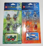 Lego Legends Of Chima Character Sets With 8 Minifigures