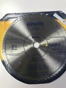 Irwin 11840 7-1/4 Inch 40t Classic Circular Saw Blade For Plywood And Veneer