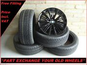 Genuine Bmw 21 5 Series Gt F07 7 Series F01 F01 Black 463 Alloy Wheels And Tyres