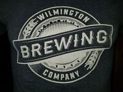Wilmington Brewing Company Dusty Blue Small T-shirt Drink Wilmington Beer