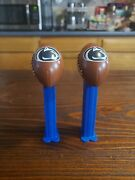 2 Piece Pez Penn State Candy Dispensers Football Shape Nittany Lions