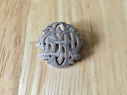 Vintage Art Deco Zoomorphic Sterling Silver Brooch/pin Fattorini And Sons