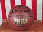 Vintage Spalding Nba Official Basketball Indoor Outdoor Ball Pro Player Signed