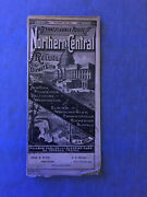 Antique Railroad Timetable - North Central Railway Map - Pa Route - 12/12/1883