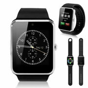 Silver Gt08 Bluetooth Smart Watch Phone Wrist Watch For Android And Ios Us