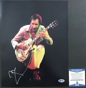 Pinball Wizard Pete Townshend Signed Classic The Who 11x14 2 Beckett Bas