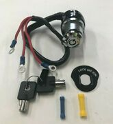 3 Wire 3 Position Round Key Ignition Switch For Harley Big Twin And Xl Sportster