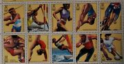 1996 Summer Olympics Stamp Called The Centennial Olympic Games
