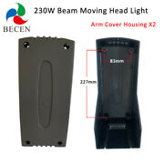 Beam 230w 7r Moving Head Lighting Parts 7r Arm Cover Housing Stage Light Parts