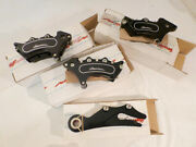 Harrison Billet Uk Brake Calipers For Twin Cam Dyna 2000-2013 Excl Fatbob