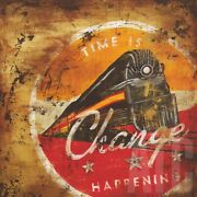 36wx36h Time Is Change Happening By Rodney White Locomotive Choices Of Canvas