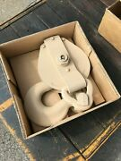 Snatch Block 8 Inch Single Pulley 10 Ton Military Skookum 5/8 Wire Rope New