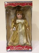 Victorian Star Collection Brass Key Genuine Porcelain Angel Doll 1998 02581