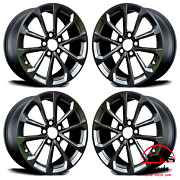 Set Of 4 Cadillac Cts 2017 2018 2019 19 Factory Original Staggered Wheels Rims