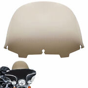 13andrdquo Round Windshield Wind Fit For Harley Touring Flht Flhx Ultra Classic 96-13