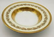 Exquisite French Raynaud Ceralene Imperial Limoges China Bowl W/ Gold