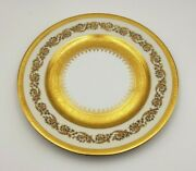 Exquisite French Raynaud Ceralene Imperial China 7 1/2 Plate W/ Gold