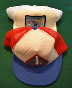 Vintage Boy Scout - 1994 And 1995 Mall Show Hats - Capital Area Council