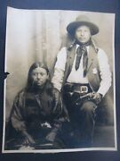 And039 Old West And039 Vintage Antique Photo 1880-1890..and039 Indian Police Armedand039..pistols
