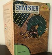 Vintage Sylvester The Mouse With The Musical Ear 1969 Hc Golden Book Readers