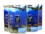 Lot Of 4 Vivitar 8gb Sd Sdhc Class 6 And Class 10 Memory Card Camera Camcorder