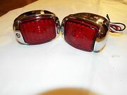 47 48 49 50 51 52 53 Chevy Gmc Truck 2-12v Stainless Tail Light Taillite Nonled