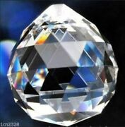40mm100pc Clear Chandelier Glass Crystal Lamp Prisms Parts Hanging Drops Pendant