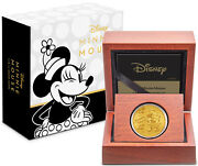 Niue- 2019 - 1/4 Oz Gold Proof Coin- Disney Minnie Mouse