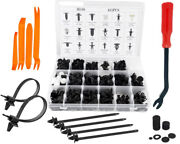 Car Retainer Clips And Fastener Remover Sizes Auto Push Pin Rivet 415 Pcs Set