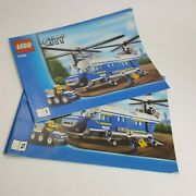 Lego City Police 4439 Manual Only