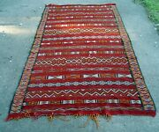 Rare Collectible Antique 61andrdquo X 122andrdquo Hand Knotted Rug