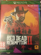 Red Dead Redemption 2 New/sealed Xbox One 2018