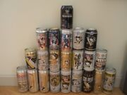 Pittsburgh Penguins Beer Cans Empty Mario Lowest Price Sidney Iron City Choice